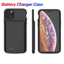 Obudowa ładowarki do telefonu iPhone X XS Max 11 Pro 5000/5500mAh obudowa do ładowania baterii Power Bank do iPhone 6 7 8 Plus