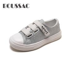BOUSSAC Sneakers for Boys Girls Light Shiny Autumn Kids Fashion Breathable Non-Slip Rubber Sole Sport Shoes