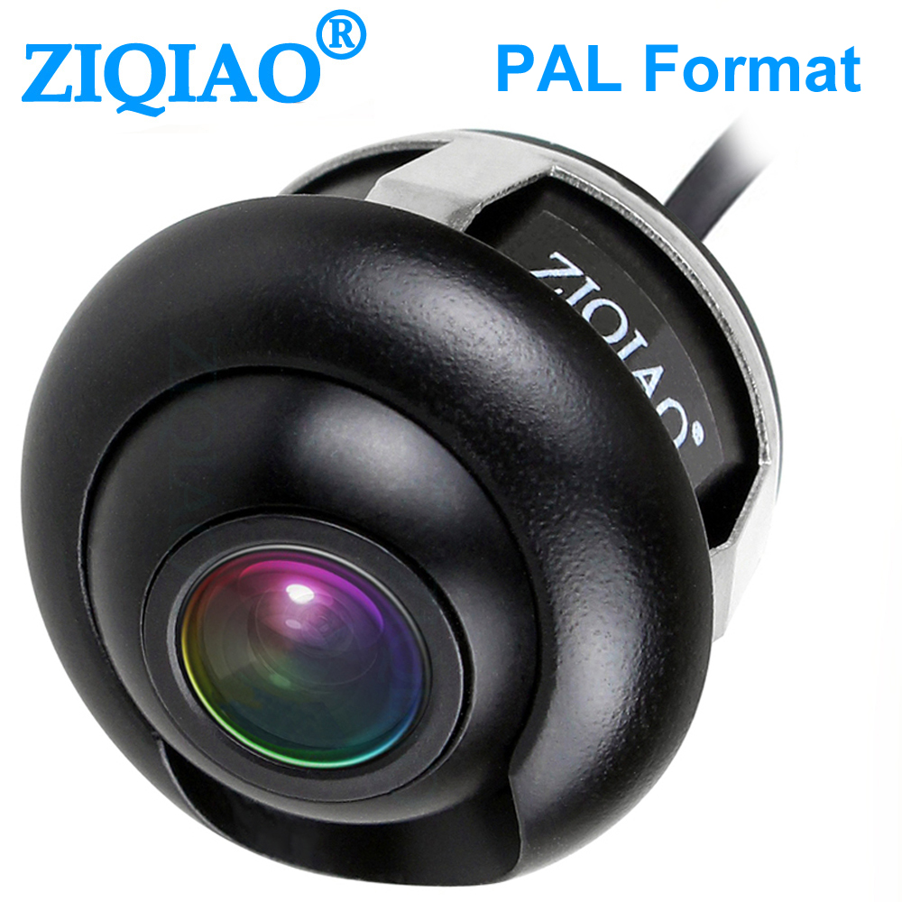 ZIQIAO Car Reverse Parking Rearview Camera Front Side View Rear View camera PAL HS080|Vehicle Camera| |  - title=