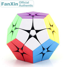 купить FanXin 2x2x2 Megaminxeds Magic Cube 2x2 Dodecahedron Professional Speed Puzzle Twisty Brain Teasers Antistress Educational Toys по цене 665.64 рублей