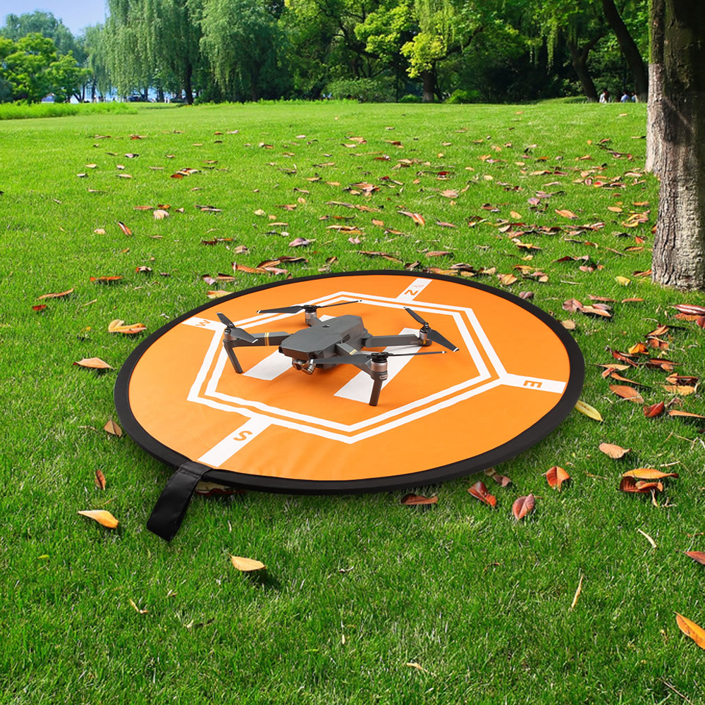 DJI Drone Fast-fold Waterproof Luminous Parking Apron Foldable Landing Pad 80cm For Parrot Anafi Mavic 2 Pro/Air/mini/Phantom