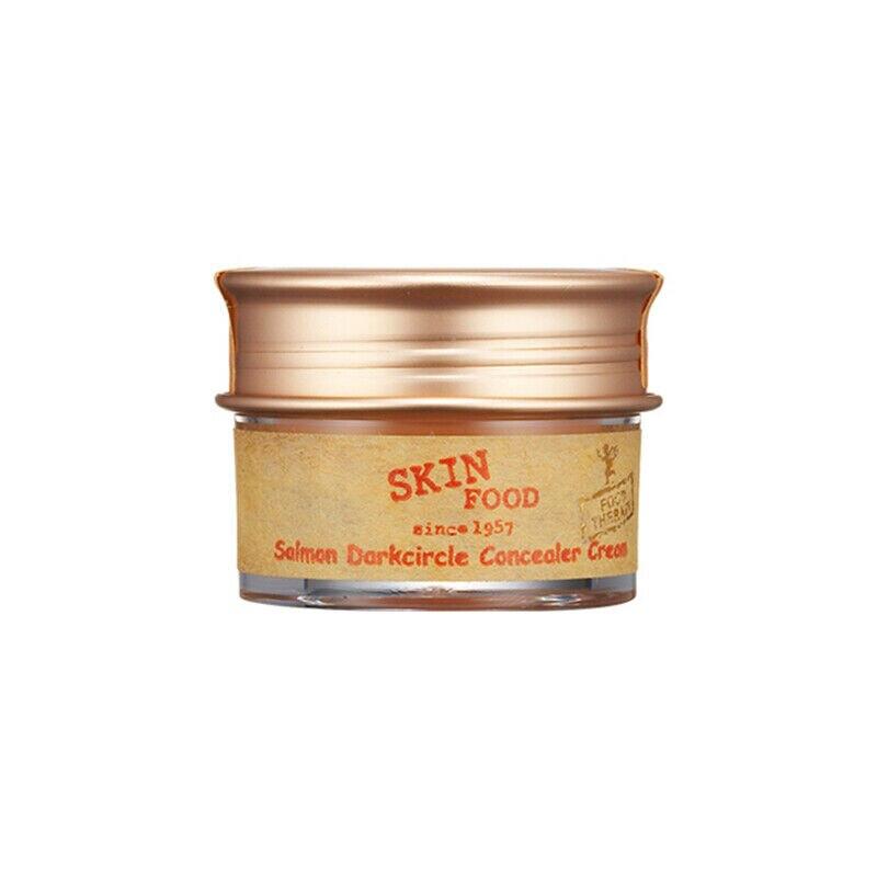 SKINFOOD Salmon Dark Circle Concealer Cream 10g Make Up Concealer Cover Dark Eye Circle Face Scar Concealer Korea Cosmetics