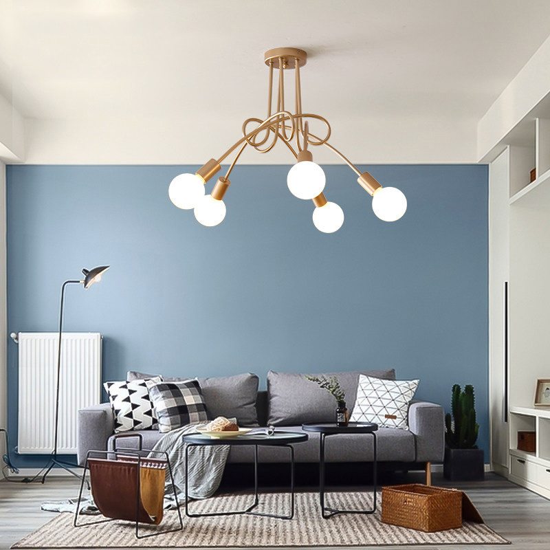 Post Lamps And Lanterns Concise Originality Restaurant Lamp Designer Model Between A Living Room Personality Attract Top Light