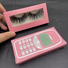 8D Mink Lashes Bulk 25mm Mink Eyelashes Extension 3D Mink Lashes Wholesale False Eyelashes Makeup Beauty Eyelash Packaging Box