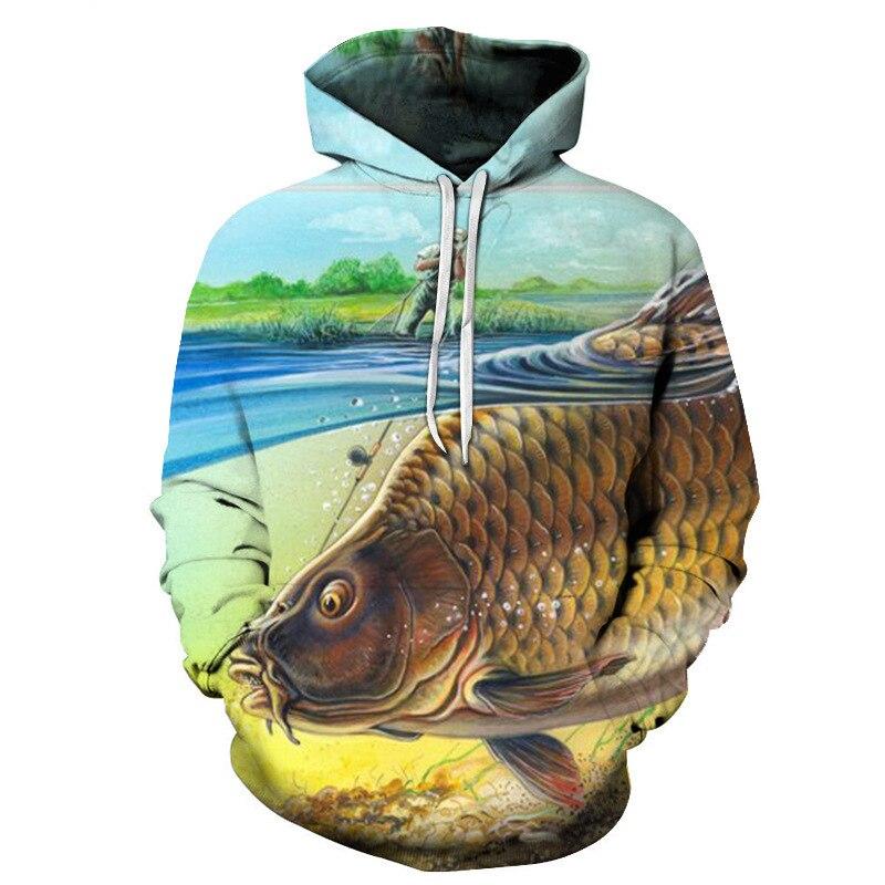 New Big Size Fishing Clothing Long Sleeve Autumn Winter Fishing Coat Outdoor Breathable Fishing Hoodie Sweatshirt