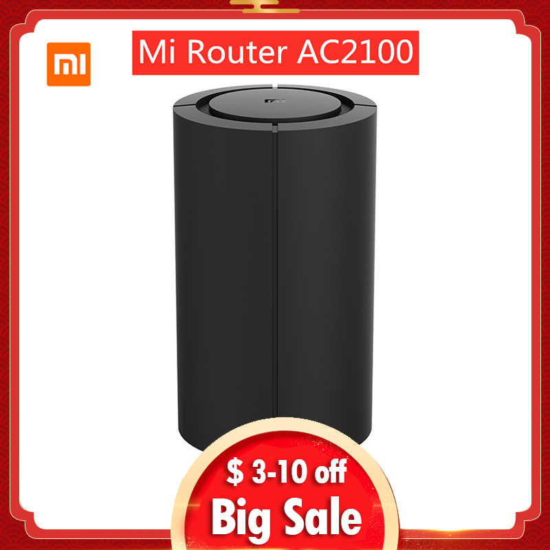 Xiao Mi Mi Router AC2100 Dual Frequentie Wifi 128 Mb 2.4 Ghz 5 Ghz 360 ° Dekking Dual Core Cpu game Remote App Controle Voor Mi Thuis