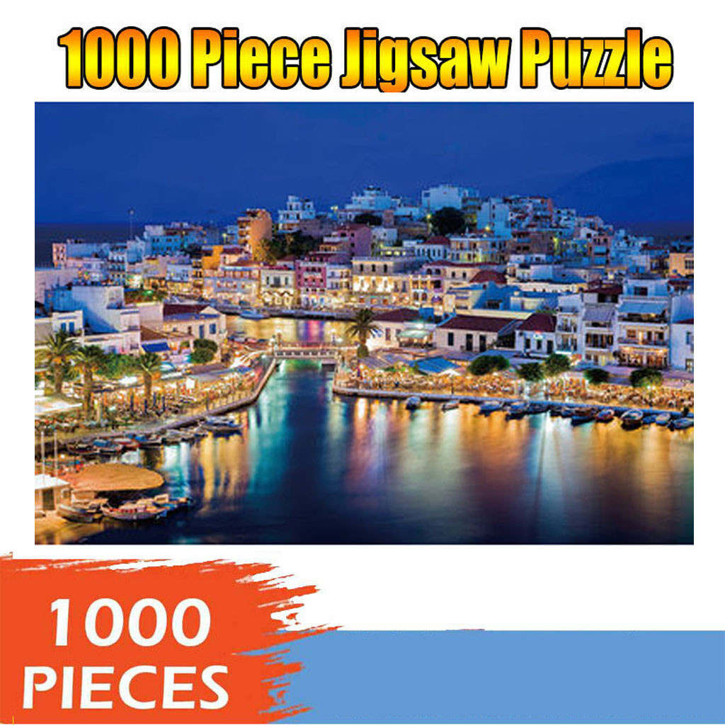 Educational Toys Toy Puzzle Adults Puzzles 1000 Piece Large Puzzle Game Interesting Toys Personalized Gift Jigsaw Puzzle
