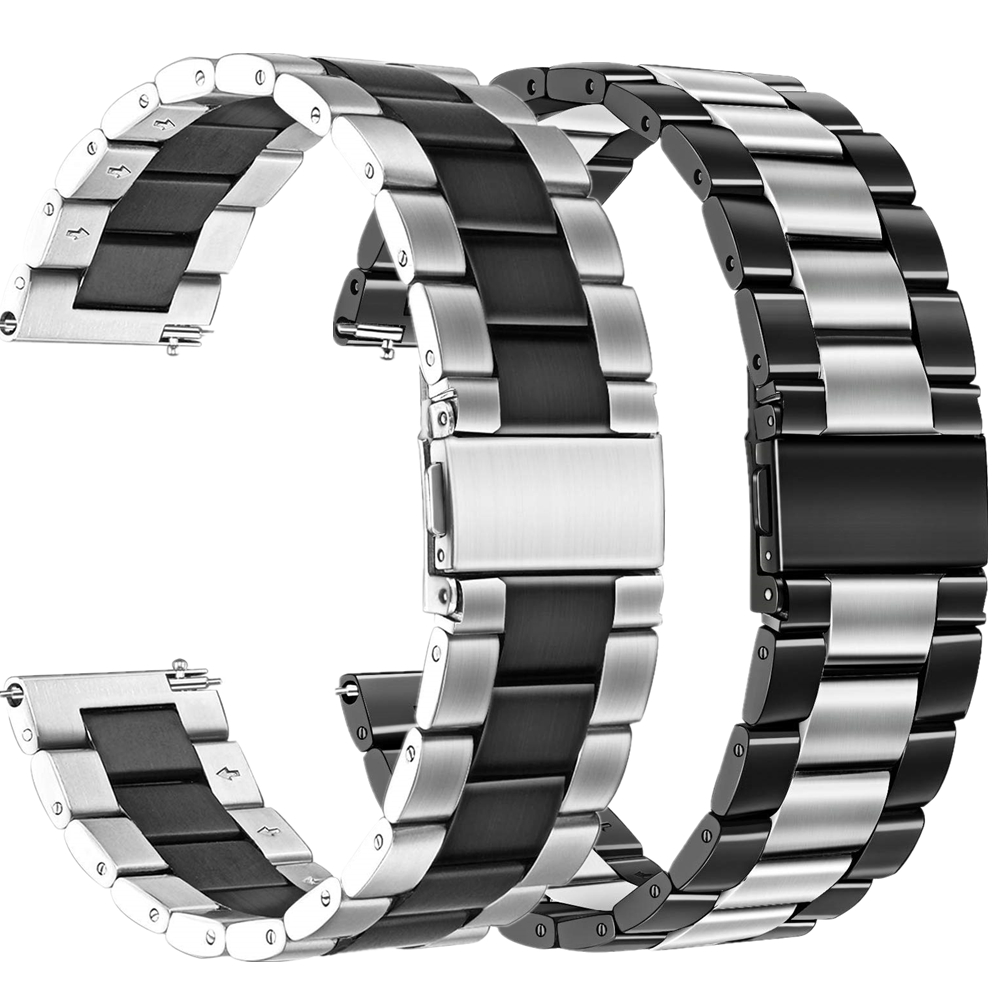 Bracelet For Samsung Gear S3 Classic Frontier Bands 22mm 20mm Stainless Steel Strap For Galaxy Watch 46mm/ Active 2 40mm 44mm
