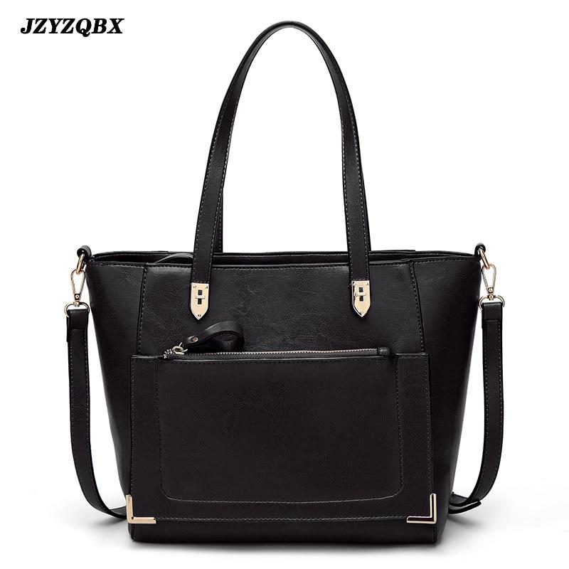 Womens Pouch Vintage Luxury Handbag Waterproof PU Leather Shopping Bags Handbags Women Designer