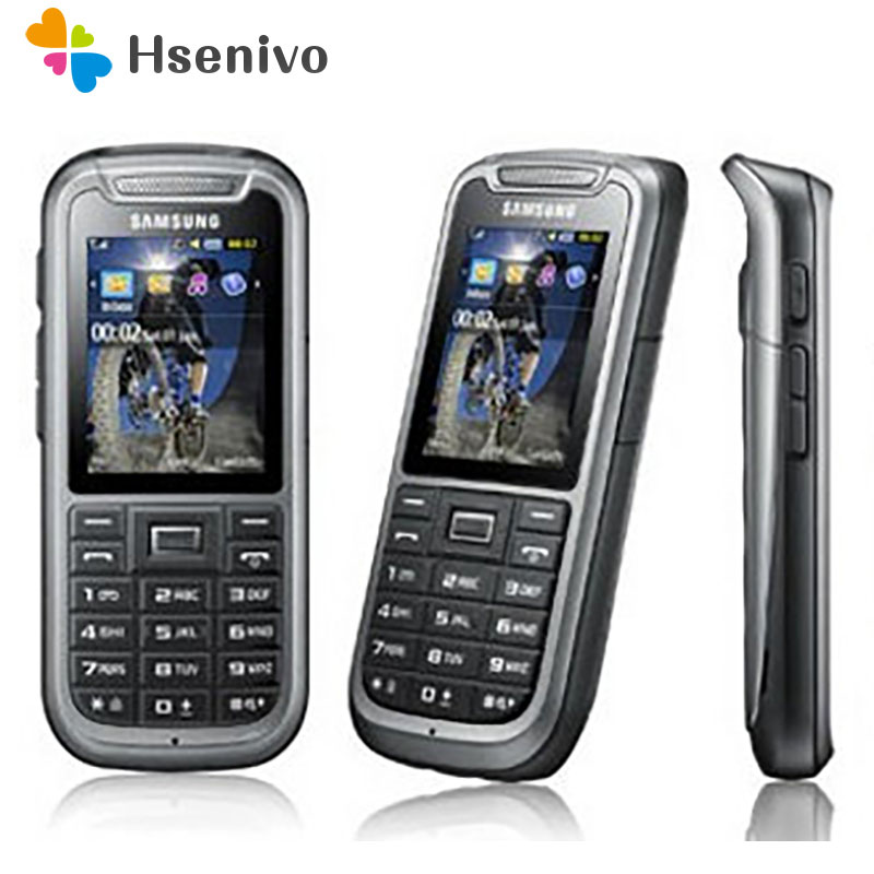 C3350 100% Original Unlocked Samsung C3350 2.2 Inches GPS GSM Cheap Refurbished Mobile Phone Free Shipping