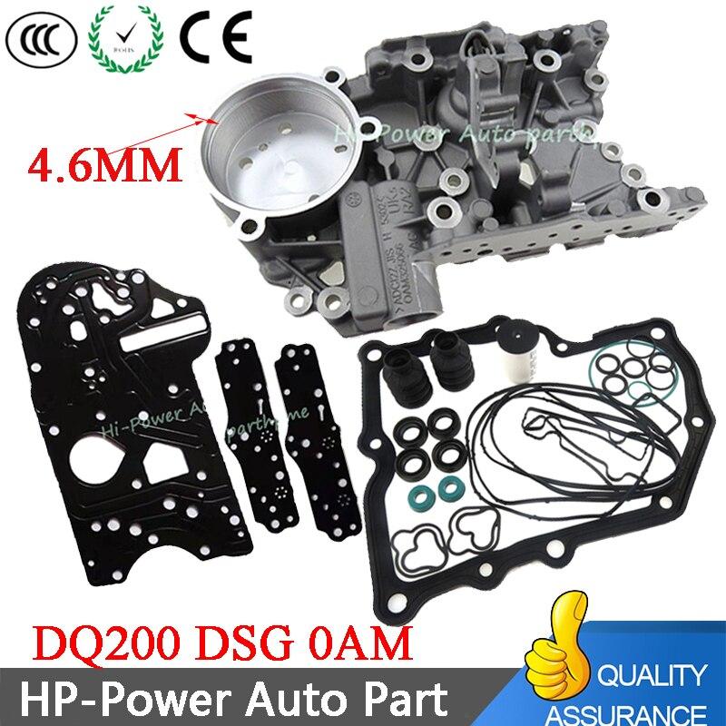 DQ200 DSG 0 Mengumpulkan Housing + Gearbox Overhaul Gasket Filter Cincin Karet Kotoran Penutup Tahan Kit Untuk Audi skoda 0AM325066AC