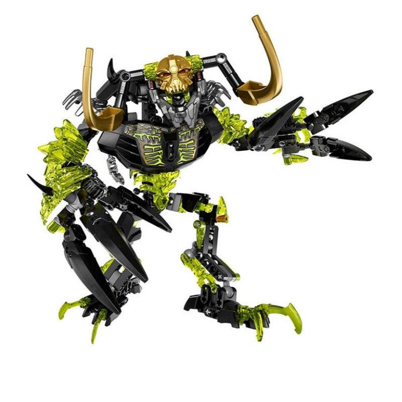 Bionicle umarak destruidor bioquímico guerreiro bloco de construção brinquedos ksz 614 compatível com 71316 bionicle presente natal