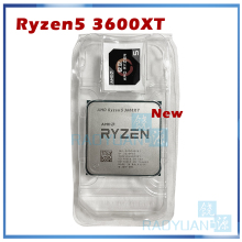 Nuovo processore CPU AMD Ryzen 5 3600XT R5 3600XT 3.8 GHz a sei Core a dodici Thread 7NM 95W L3 = 32M 100-000000281 Socket AM4