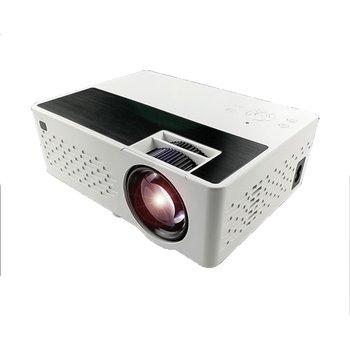 1 Pc Projector True Stereo Super Sense Sound Quality Projector HD 1080P Home Projector Portable LED Projectors US PLUG