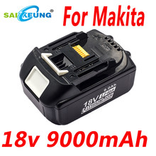 Can Replace Makita 18V9.0Ah BL1860B Lithium Ion Battery, Compatible with Makita 18V BL1850B BL1840B Cordless Power Tools