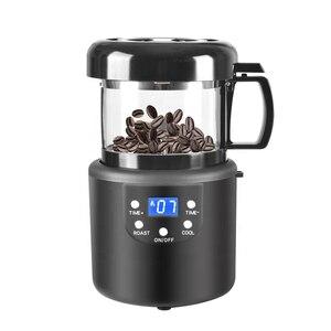 Image 1 - 220V 커피 액세서리 홈 커피 구이 기계 가정용 베이킹 볶은 콩 기계 커피 로스터 80g
