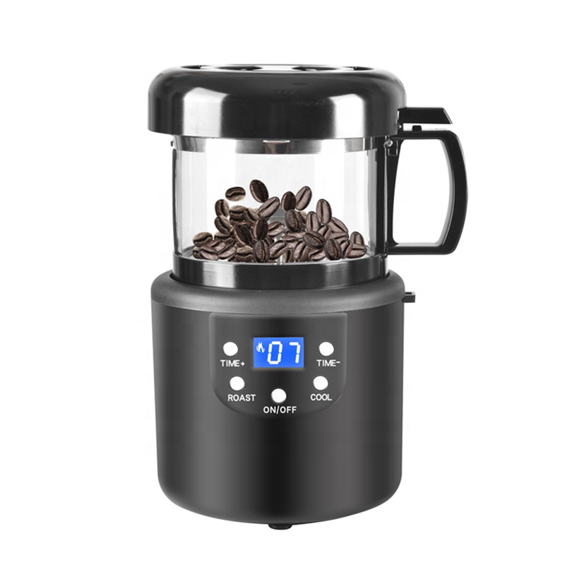 220V Coffee Accessories Home Coffee Roasting Machine Household Baking Roasted Bean Machine Coffee Roaster 80g(China)