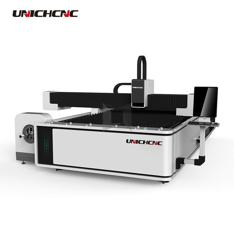 1000w Optional Fiber Laser Cutting Machine Sheet Metal Rotary Optional