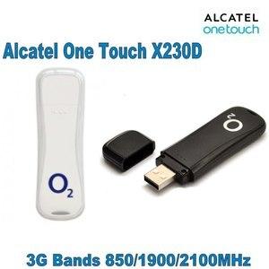 Unlocked Alcatel X230D HSDPA UMTS 850/ 900/2100MHz USB Stick 7.2Mbps 3G modem 3G dongle(China)