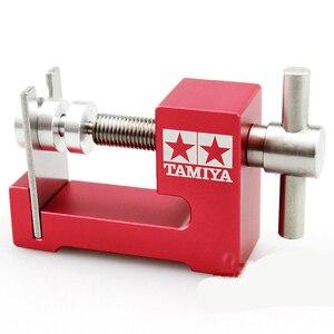 Image 5 - 1PC צמיג מתקין גלגל Loader צמיגי שרברב מכשיר עם נושאות Tamiya מיני 4WD כלים גדול/קטן סוג כלים חלקי DIY