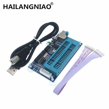 10pcs PIC K150 Programmer USB Automatic Programming Develop Microcontroller + USB cable
