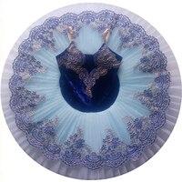 Blue Ballet Dance Costumes Ballerina Girls Kids Child Adult Sleeping Beauty Ballet Tutu Swan Lake Dress Women Stage Performance