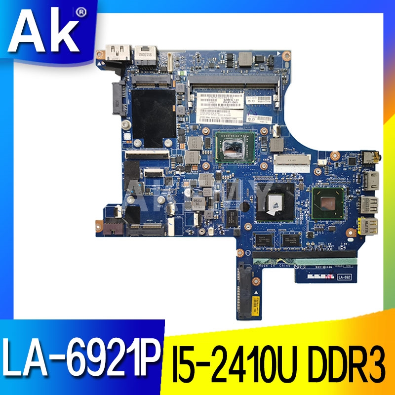 FRU:04W1489 FOR Lenovo Thinkpad Edge E420S Laptop Motherboard PILP1 LA-6921P <font><b>I5</b></font>-<font><b>2410M</b></font> DDR3 100% Fully Tested image