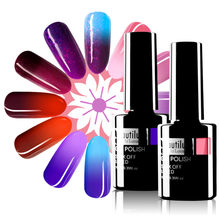 Beautilux Thermo Nail Gel Polish Thermische Temperatuur Kleur Veranderende Stemming Nagels Gels Vernis Uv Led Permanente Nagellak 10Ml(China)