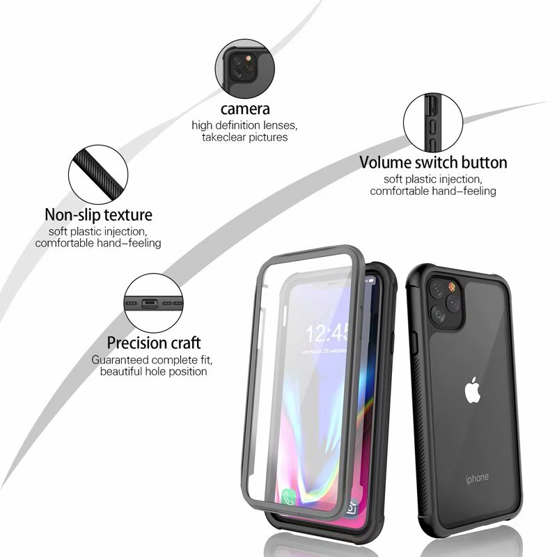 Shockproof Rugged Case for iphone11 Pro Max (11)