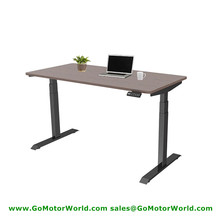 Free shipping to Russia standing up desk mini height 560mm max 1210mm 35mm/s speed 100KG lift