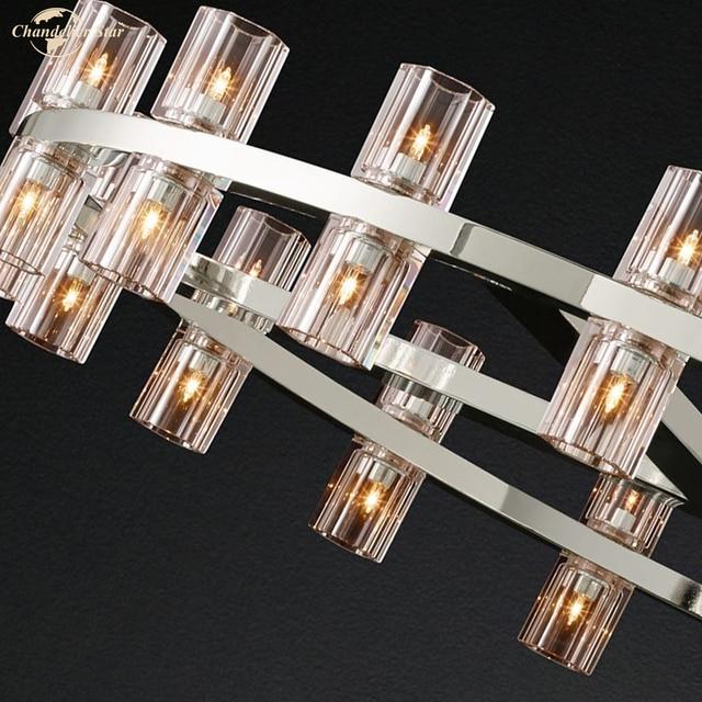 постмодерн роскошный подвесной светильник для спальни гостиной фотография