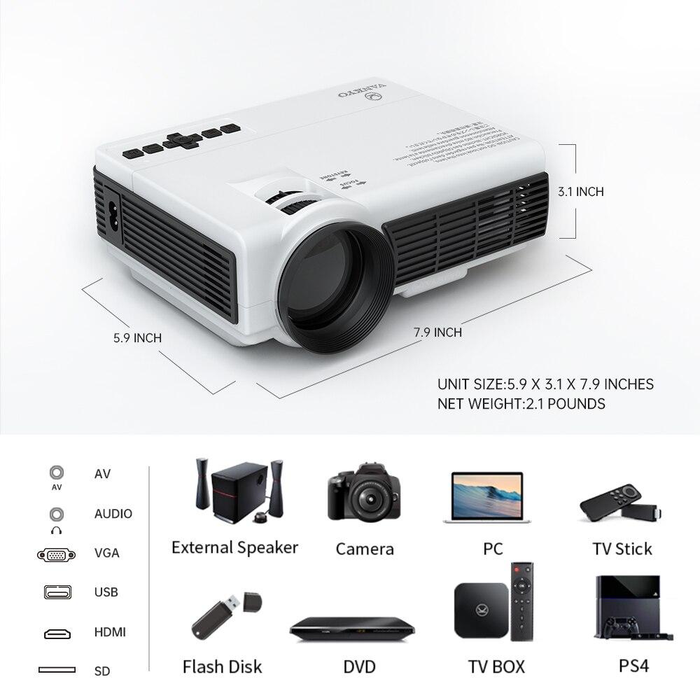 Dropshipping vankyo lazer c3mq/c3wq 1080p suportado mini projetor com sincronizar tela do smartphone portátil wi fi projetor-4