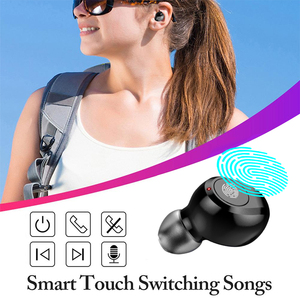 Image 4 - 120 Hours standby Headsets True wireless stereo TWS F9 Headphone Hifi Bluetooth 5.0 Earphones Touch control Earbuds