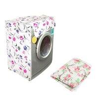 Exquisite Dicken PEVA Waschmaschine Abdeckung Wasserdicht und Staubdicht Home Hotel Verwendung Trommel Waschmaschine Dekorative Abdeckung