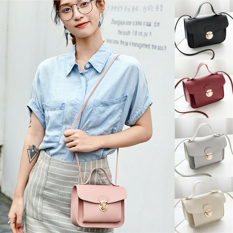 Autumn Brand Bags For Women Leather Handbags Small Women Messenger Bag Casual Candy Color Women Shoulder Bag Party Lock Purse