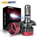 ANMINGPU 12000 мл 56 Вт H4 светодиодные лампы для автомобильных фар 9005 HB3 9006 HB4 светодиодные фары H7 H1 H11 H8 H9 9012 HIR2 Светодиодные Автомобильные фары CSP