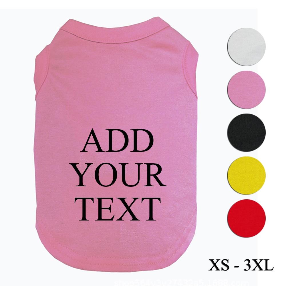 Summer Customized Pet T-shirt  My Pet World Store
