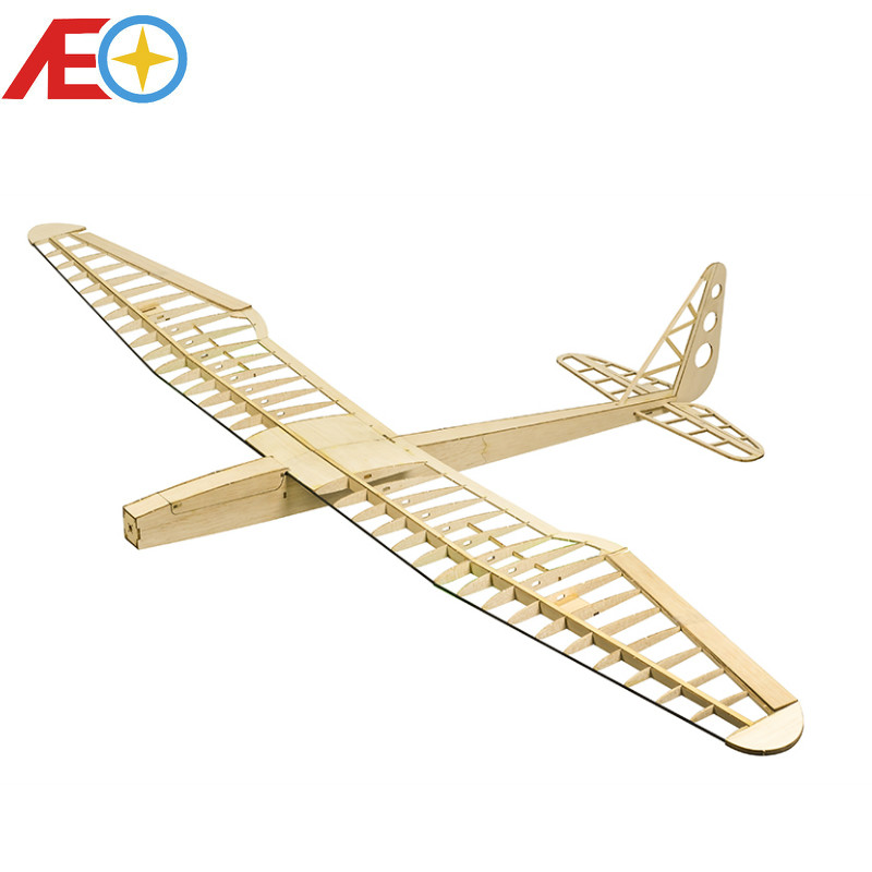 Sunbird Electric Glider Laser Cut Balsa Kit 1600mm Balsawood Airplane Model Building Toys RC Woodiness model /WOOD PLANE image