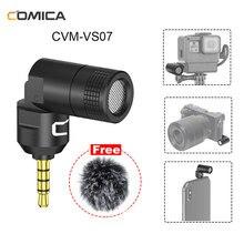 Comica CVM VS07 GoPro Vlog Video Drahtlose Mikrofon für iPhone Andriod Smartphone SONY Nikon DSLR GoPro 8 7 6 5 Stecker und Spielen