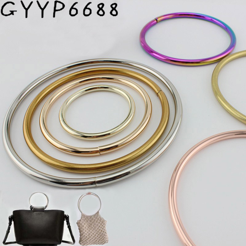 10pcs 50/75/100/125mm Opened O Ring For Bags Purse Hanger Connector Diy Handbags Handle