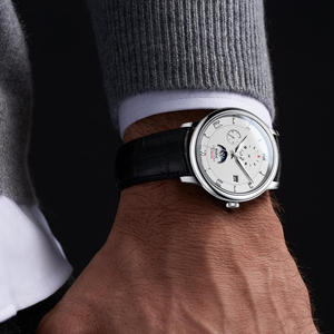Image 2 - HAZEAL men automatic watches brand luxury self wind mechanical wristwatch watch dress mens montre homme with month week date