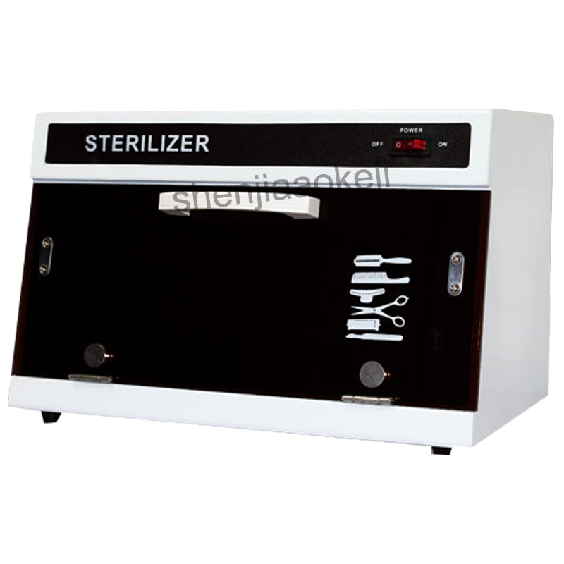 YM-2009 Nail Salon Sterilizer With Ultraviolet Radiation Ozone Disinfection Cabinet For Hairdressing Dental Manicure Tool 220V