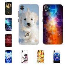 For Asus ZenFone Live L1 ZA550KL Case Soft TPU Cover Cat Pattern Capa