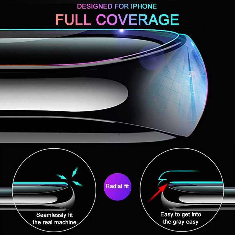 100D كامل منحني حافة الزجاج المقسى لسامسونج غالاكسي S10E S7 S6 حافة S8 S9 S10 زائد واقي للشاشة 9H زجاج واقي فيلم