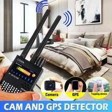 G-318A-Detector de insectos antiespía, dispositivo buscador de señal de antena Dual de 1MHz y 8000MHz, RF, GPS, protección de seguridad