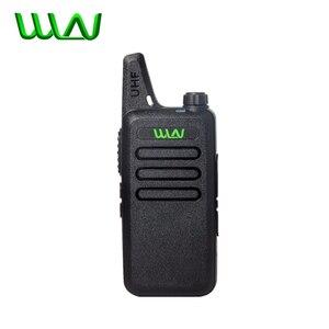 Image 1 - 100% WLN KD C1 Walkie Talkie KD C2 KAILIวิทยุ5WคุณภาพสูงUltra Thin Mini USB ChargerวิทยุแบบพกพาKDC1 KDC2