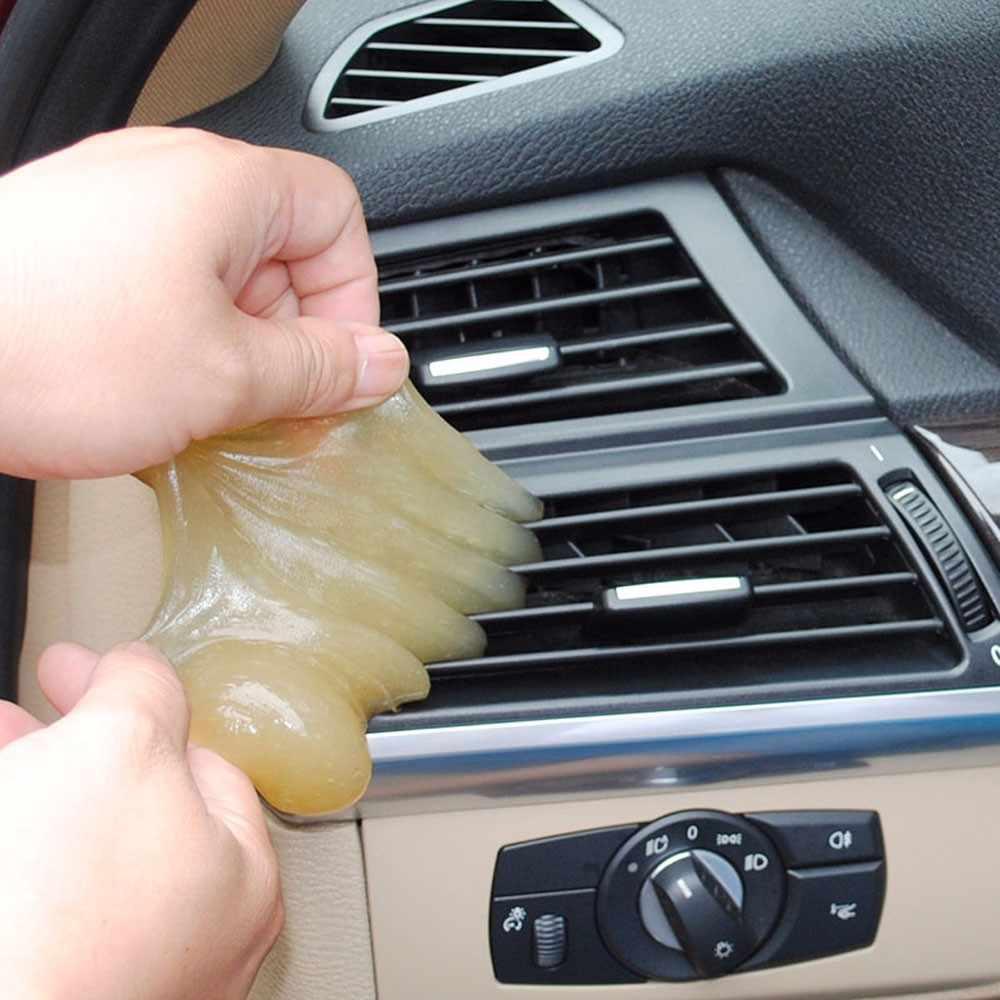 Pegamento de goma Gel para el coche esponja de limpieza Universal Super limpiador de polvo de barro herramientas de limpieza de coches accesorios para el coche 912