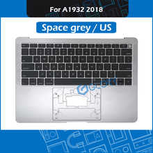 New Space Grey US Layout A1932 Top Case for Macbook Air Retina 13