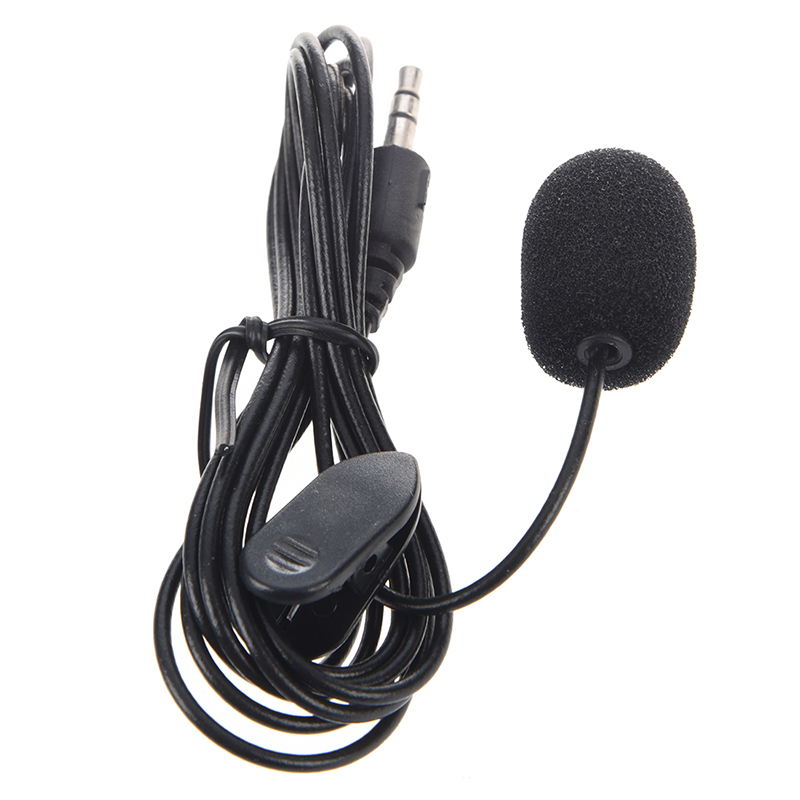 3.5mm Hands Free Computer Clip On Mini Lapel Miniphone