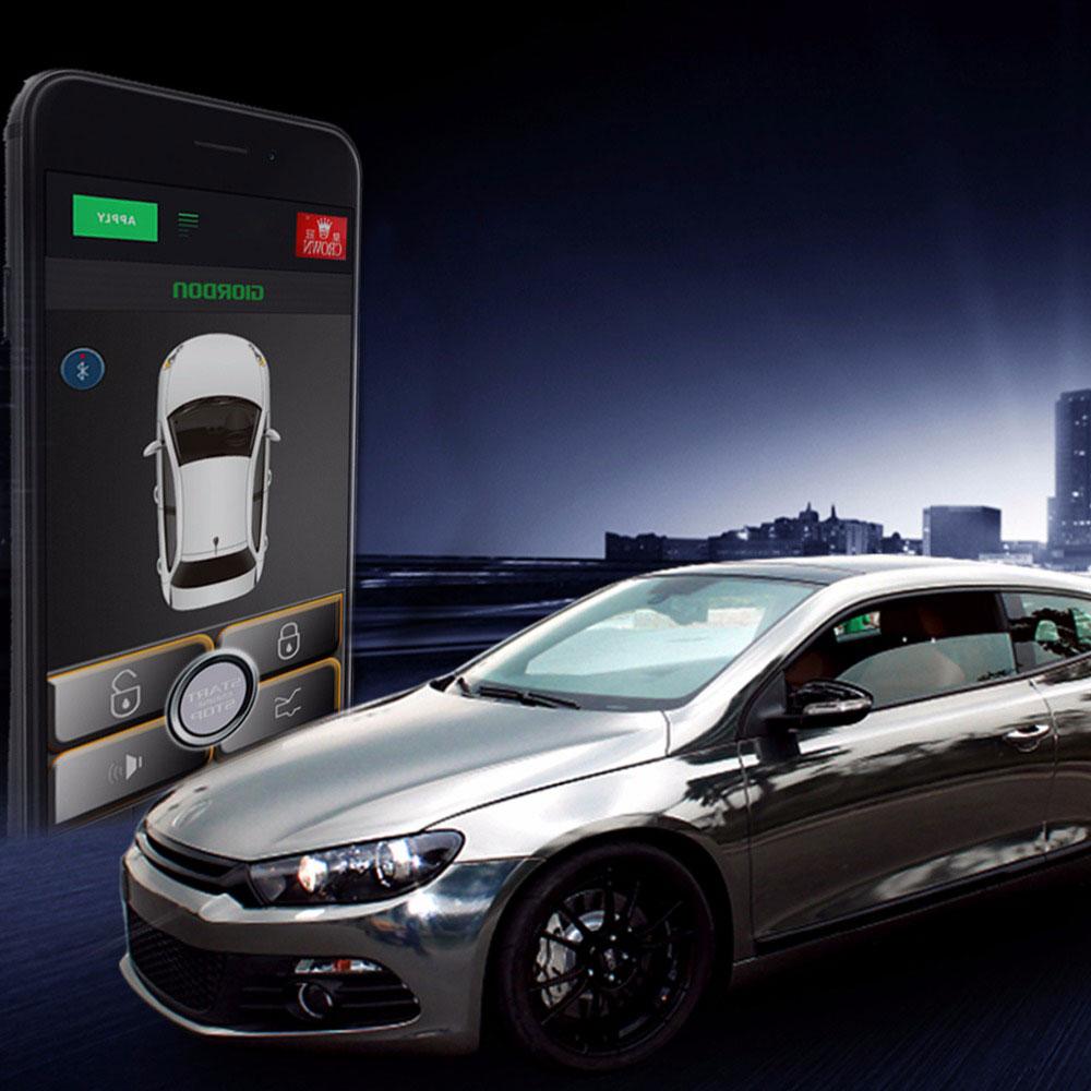 Auto Alarm System Car Alarm Engine Start Stop Keyless Entry System Starline A93 Start Stop Central Locking With Remote Start